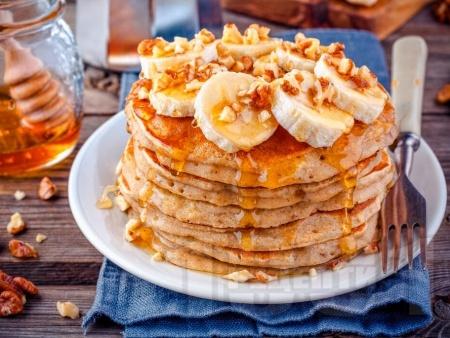 Американски палачинки с банани - снимка на рецептата